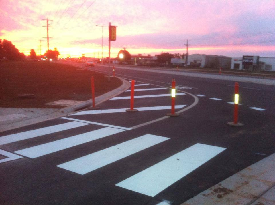 Image of Road Marking in Shepparton